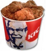 KFC 15 pcs Chicken Bucket