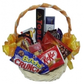 Assorted Chocolate Lover Basket 5