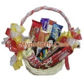 Assorted Chocolate Lover Basket 7