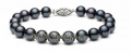 Black Cultured Pearl Bracelet