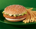 McChicken Sandwich Meal