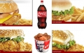 KFC Chicken Burger Fiesta