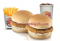 Burger King - Chicken Cheese Shots Meal