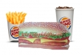 Burger King - Extra Long American Chicken Sandwich Meal