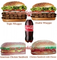 Burger King - Sandwich And Burger Combo