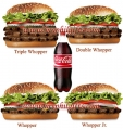 Burger King - WHOPPER Combo