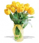 Bright Yellow Tulip