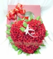 Rose in Heart Box